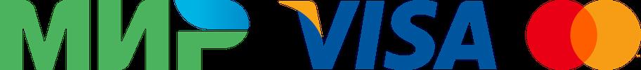 Платежные системы: МИР, VISA, MasterCard